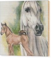 Arabian Wood Print