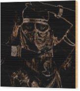 Arabian Face 0901 Wood Print