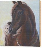 Arabian Prince Wood Print