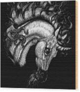 Arabian Unicorn 2 Wood Print