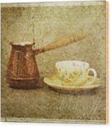 Arabica Coffee Wood Print