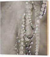 Arachne's Beads Wood Print