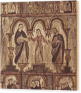 Aragon: Jesus & Disciples Wood Print