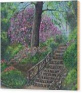Araluen Abloom Wood Print