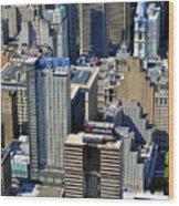 Aramark Psfs Buildings 1101 Market St Philadelphia Pa 19107 2926 Wood Print by Duncan Pearson