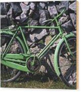 Aran Islands, Co Galway, Ireland Bicycle Wood Print