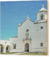 Mission La Bahia Wood Print