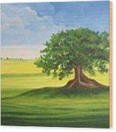 Arbol De Ceiba Wood Print
