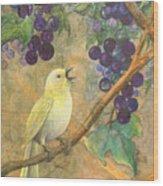 Arbor Song Wood Print