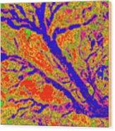 Arboreal Plateau 36 Wood Print