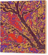 Arboreal Plateau 40 Wood Print