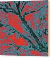 Arboreal Plateau 6 Wood Print