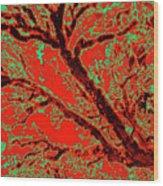 Arboreal Plateau 9 Wood Print