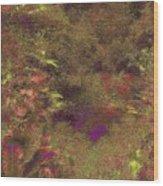 Arboretum Pond Wood Print