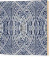 Arc De Triomphe Du Carrosel Paris Kaleidoscope Vertical Wood Print