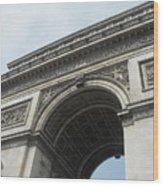 Arc De Triomphe, Paris, France Wood Print