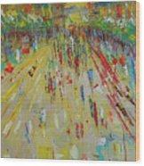 Arc De Triomphe Paris Wood Print
