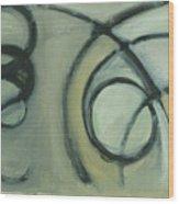 Arc Drawing 20 Wood Print