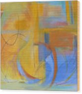 Arc No. 14 Wood Print