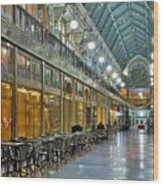 Arcade In Cleveland Wood Print