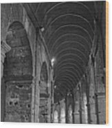 Arcades Of Coliseum  Wood Print