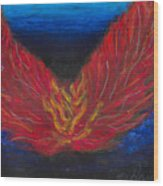 Arch Angel Gabrielle  Wood Print