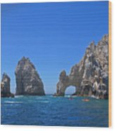 Arch At Cabo San Lucas Wood Print
