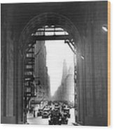 Arch At Grand Central Station Wood Print