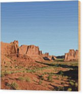 Arch National Park Wood Print