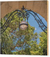Arch Of The Past Wood Print