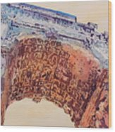 Arch Of Titus Two Wood Print