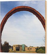 Arch Over Ncma Wood Print