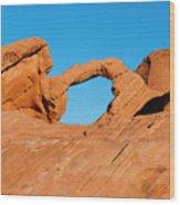 Arch Rock Wood Print