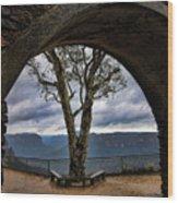 Arch Tree Wood Print
