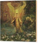 Archangel Azrael Wood Print by Steve Roberts