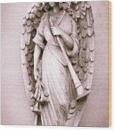 Archangel Gabriel Wood Print