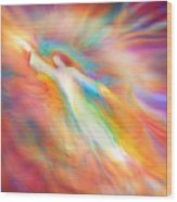 Archangel Jophiel Illuminating The Ethers Wood Print