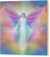 Archangel Raphael Healing Wood Print