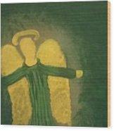 Archangel Raphael  Wood Print