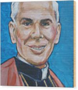 Archbishop Fulton J. Sheen Wood Print