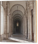 Arched And Elegant Wood Print