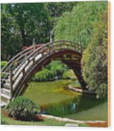 Arched Bridge Wood Print