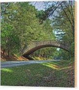Arched Bridge Overpass  Wood Print