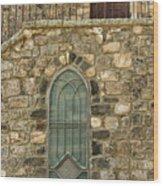 Arched Door And Window Wood Print