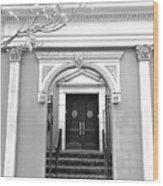 Arched Doorway Wood Print