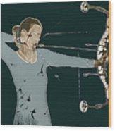 Archer Wood Print