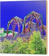 Arches 6 Wood Print