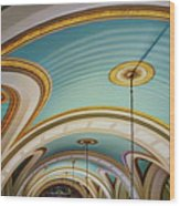 Arches And Curves - Capitol Building - Missouri Wood Print