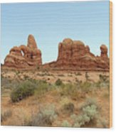 Arches Formation 33 Wood Print