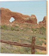Arches Formation 35 Wood Print